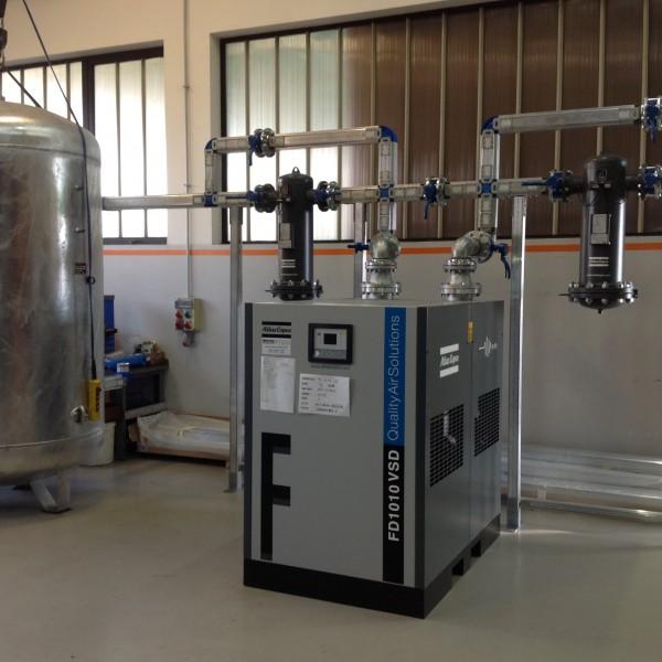 Centrale aria compressa alluminio