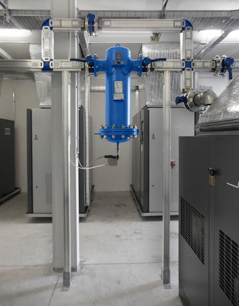 impianto aria compressa alluminio teseo