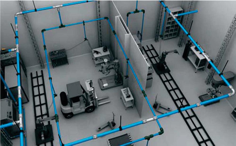 Impianto aria compressa virtuale