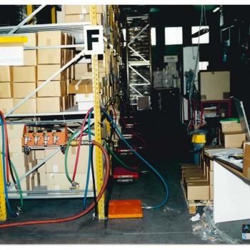 Spostamento carichi pesanti scaffalature