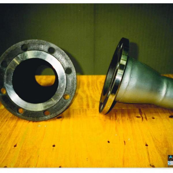 officina interna - Tubazioni acciaio zincato