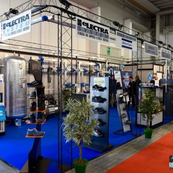Samuexpo stand Electra system